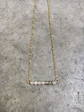 Load image into Gallery viewer, Smokey Quartz Bar Necklace