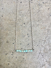 Load image into Gallery viewer, Amazonite Line Necklace