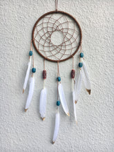 Load image into Gallery viewer, Brown Indian Dreamcatcher