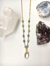 Load image into Gallery viewer, Opal Beaded Agate Necklace