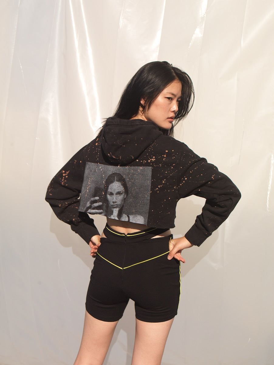 LIMITED EDITION CROPPED HOODIE
