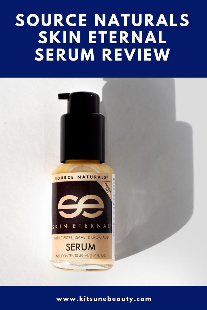 Source Naturals Skin Eternal Serum Review