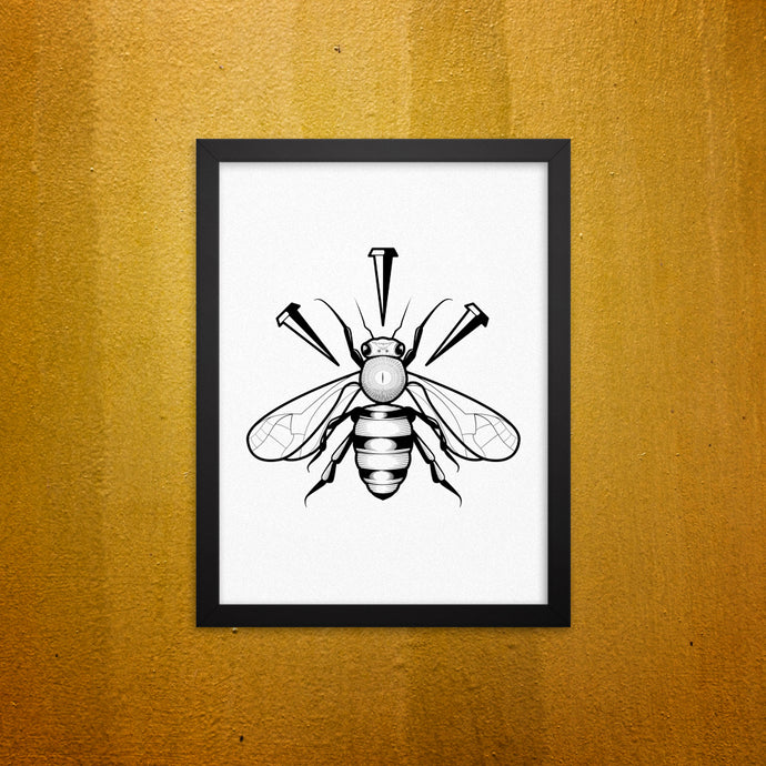 Nailbee Framed Wall Picture