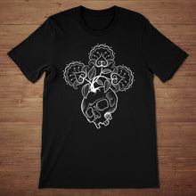Skull Flowers Men's T-Shirt