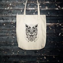 Chinese Tiger Cotton Tote Bag
