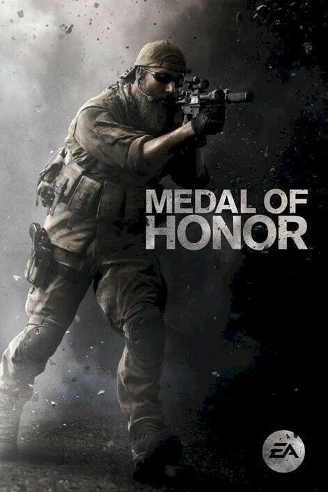 MEDAL OF HONOR ~ ENGAGE 24x36 VIDEO GAME POSTER EA NEW//ROLLED!