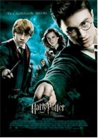 """TEASER MOVIE POSTER HARRY POTTER AND THE HALF BLOOD PRINCE 27/"""" X 39/"""""""