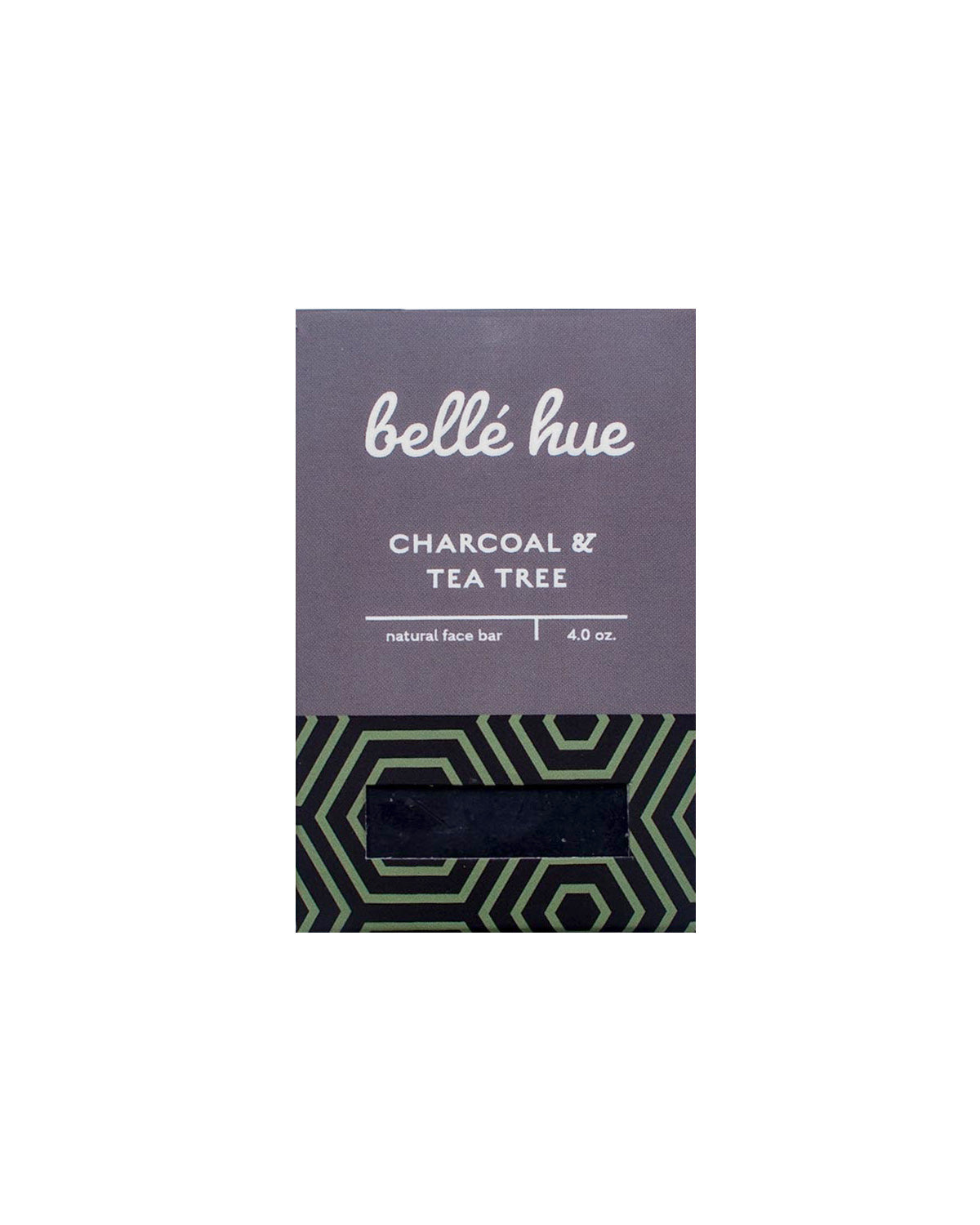 Bellė Hue Charcoal & Tea Tree Face Bar