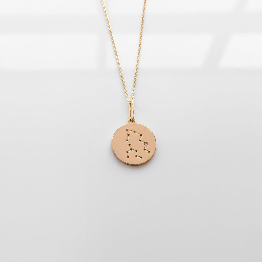 Jewelry Constellation Charm Necklace