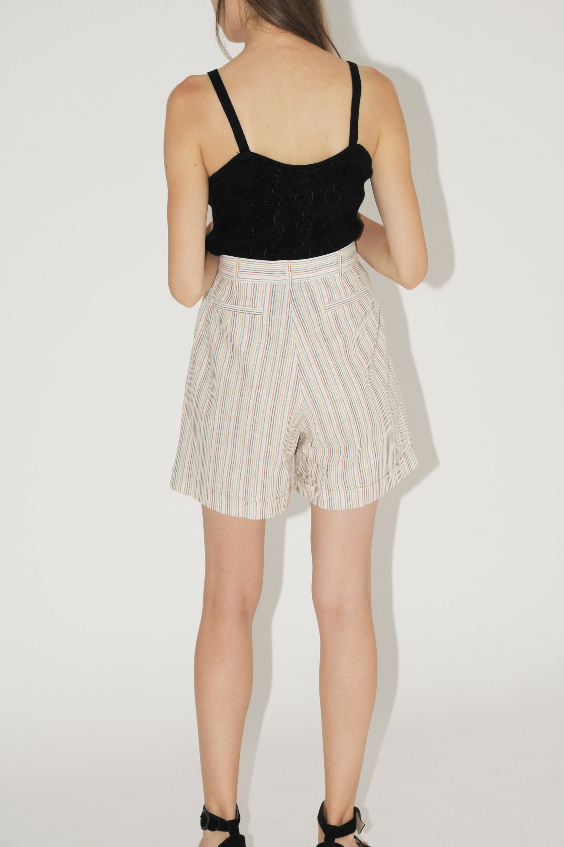 Diarte Rudo Stripes Shorts