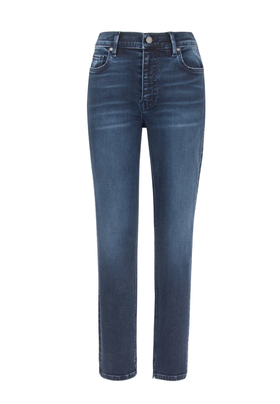 High Rise Denim - Indigo Blue Vintage Wash