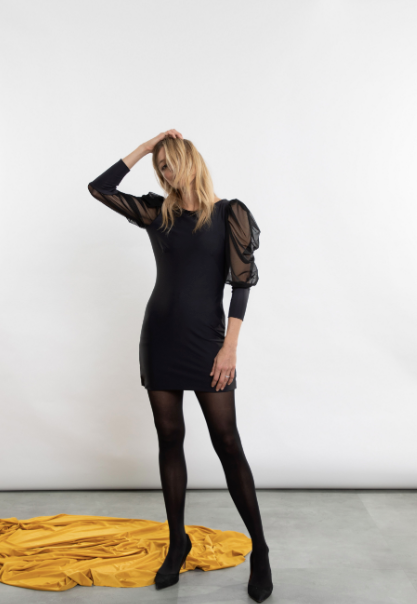 Rightfully Sewn Little Black Dress