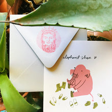 Quirky Love // Screen Print Greeting Cards