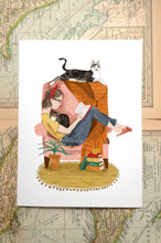 Adopt a Reading Buddy Illustration Print