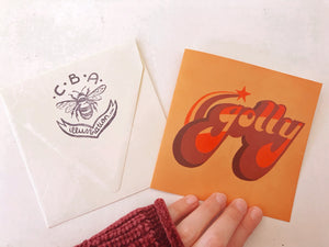Hand-Lettered Greeting Cards
