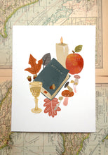 Load image into Gallery viewer, Book Season Illustration Prints