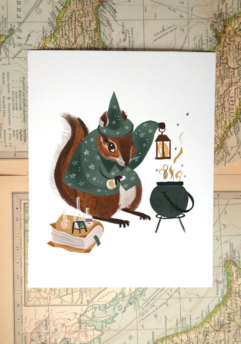 Magical Critters Illustration Prints