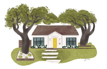 Custom Home Illustrations