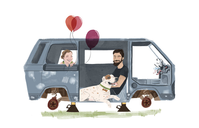 Custom GROUP Portrait Illustrations