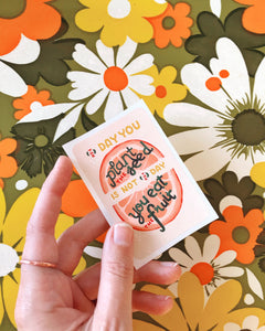 Quote Lettering Illustration Stickers