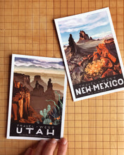 Travel West State Postcard Set