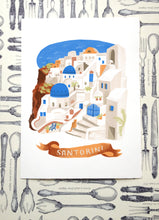 International Travel Prints: Amsterdam, Aguas Calientes, Santorini