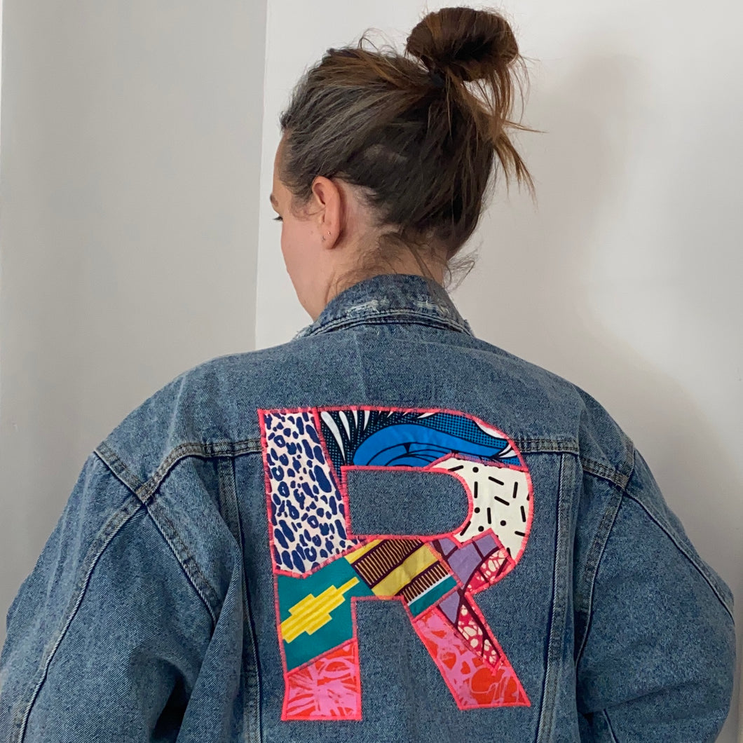 Adult Upcycle Your Own Jacket Service