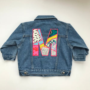 Custom Request Kids Personalised Up-cycled Jacket