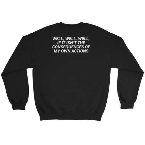 SWEATPANTS, WINE & TRUE CRIME SWEATSHIRT