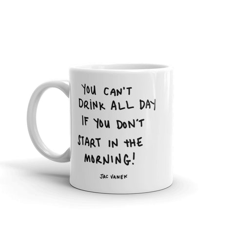 EYEROLL MYSELF COFFEE MUG