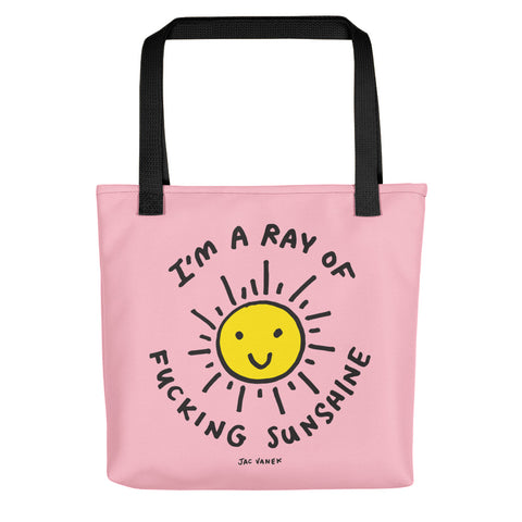 EYEROLL MYSELF TOTE BAG