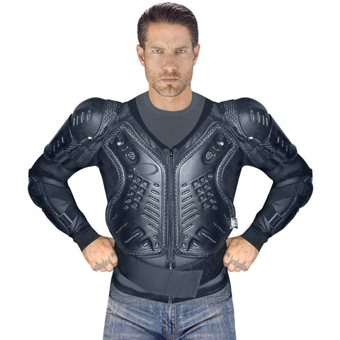 Viking Cycle Safety Armor Motorcycle Jacket For Men