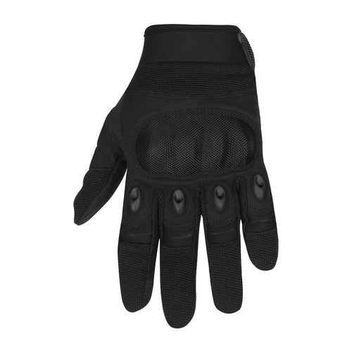 Viking Cycle Tactical Leather/Textile Motorcycle Gloves for Men