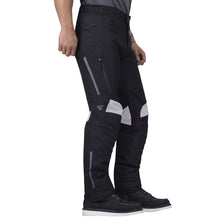 Viking Cycle Debonair Black/White Textile Motorcycle Pants for Men