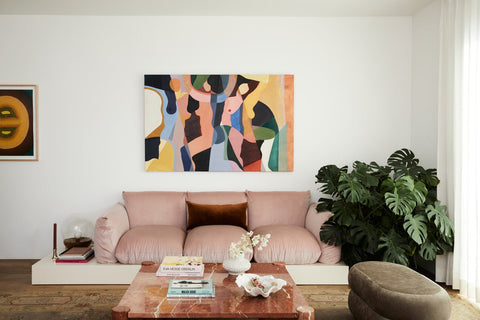 Millennial Pink Couch
