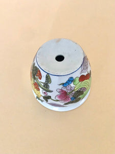 Small Ceramic Chinoiserie Planter