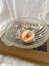 Load image into Gallery viewer, 80s Large Frosted Shell Bowl