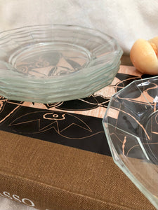 Bormioli Glass Plate Set