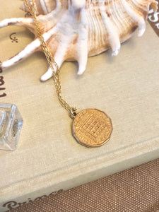 Elizabeth II Coin Necklace