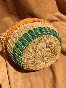 Small Authentic African Bolga Basket