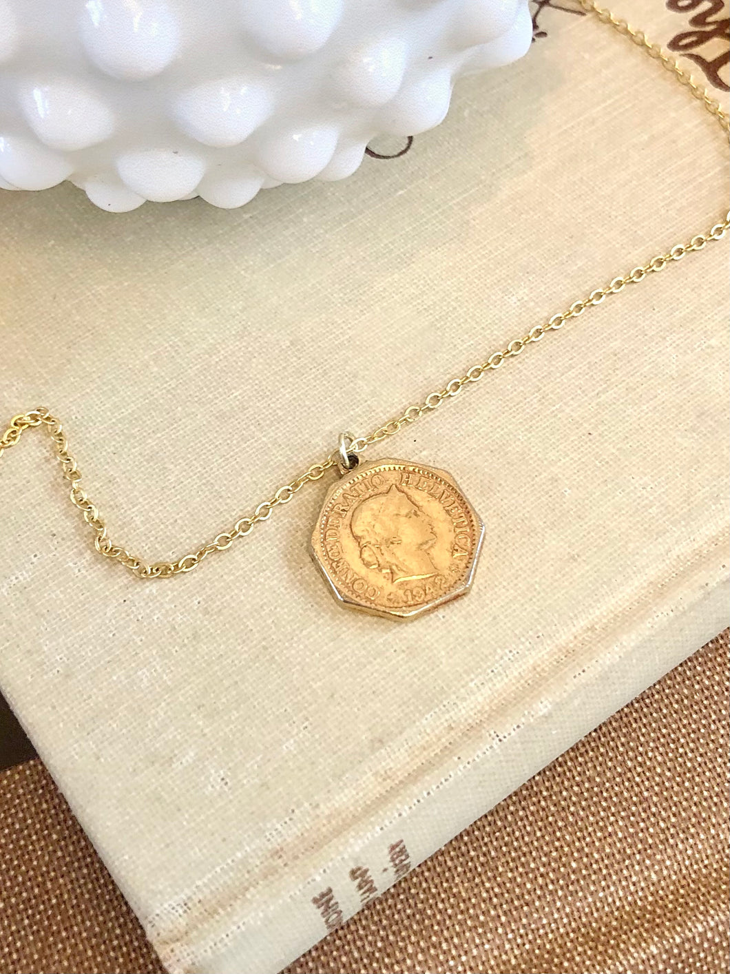 Swiss Coin Necklace