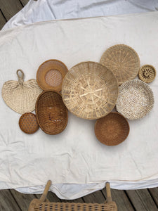 Vintage Wall Basket Set No.12