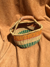 Load image into Gallery viewer, Small Authentic African Bolga Basket