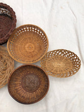Load image into Gallery viewer, Vintage Wall Basket Set No.13