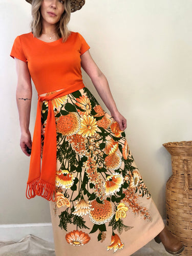 70s Alfred Shaheen California Hawaii Dress