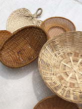 Load image into Gallery viewer, Vintage Wall Basket Set No.12