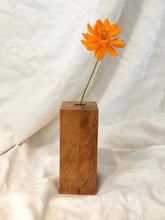 Load image into Gallery viewer, Mid Century Burl Wood Vase