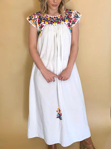 70s Embroidered Oaxacan Dress