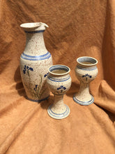 Load image into Gallery viewer, Stoneware Pitcher & Goblet Set
