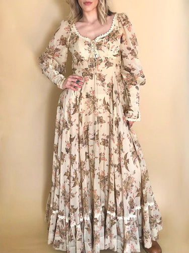 70s Gunne Sax Prairie Dress
